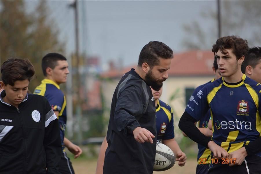 U16 Ghibellini 2 vs Granducato Rugby del 22-10-2017
