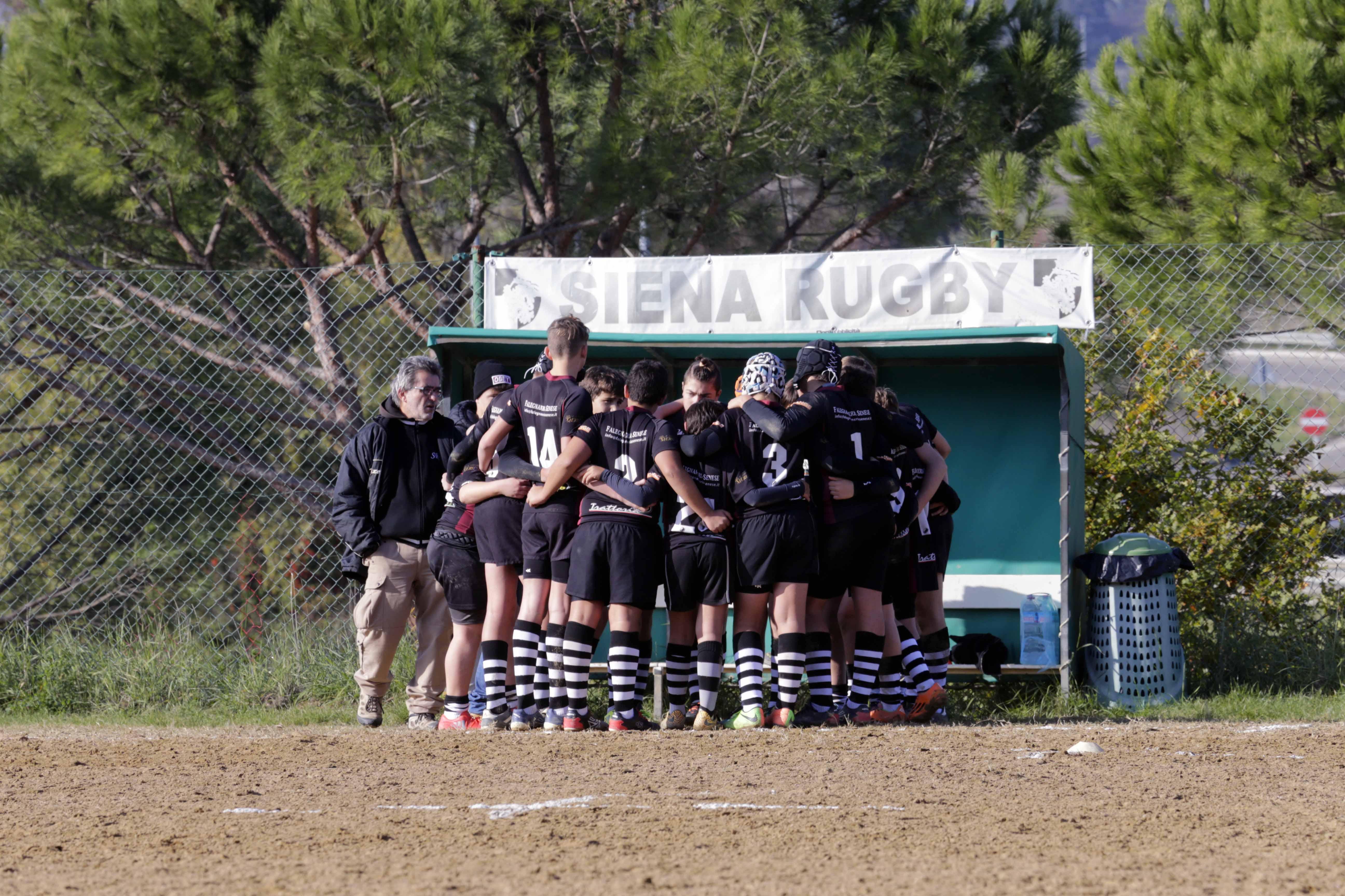 Under 14 Siena Cecina del 19-11