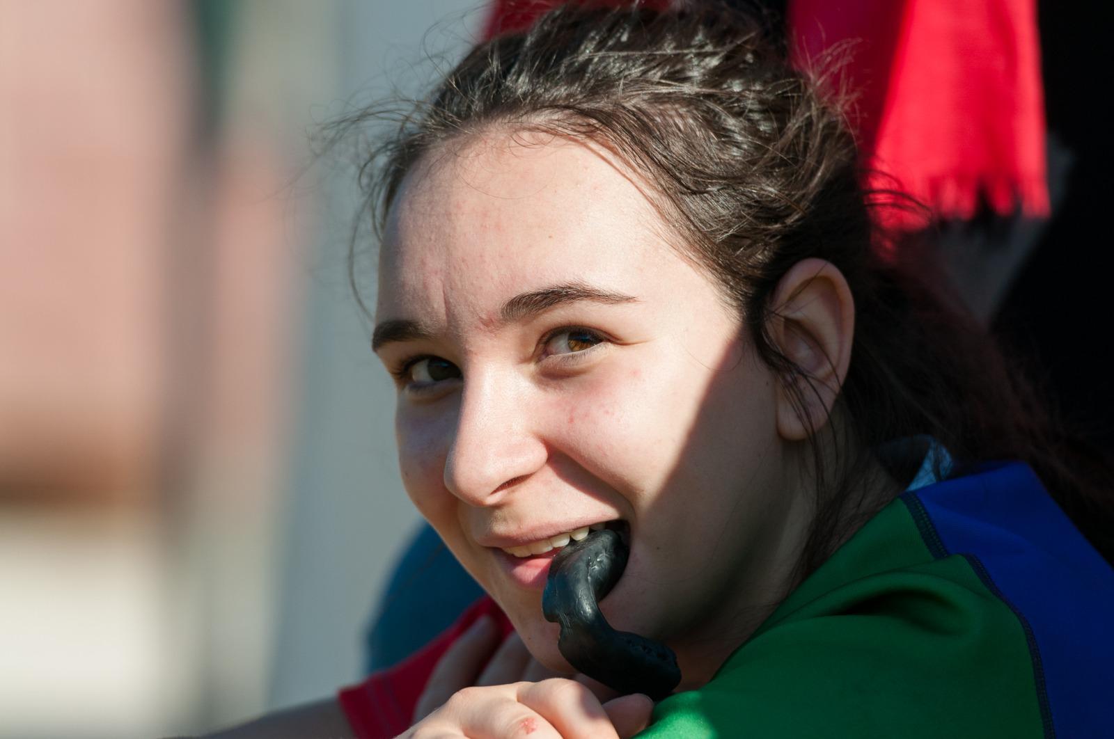 Matilde Giotti, la giovane rugbysta senese convocata per scendere in campo prima  del match delle Azzurre!