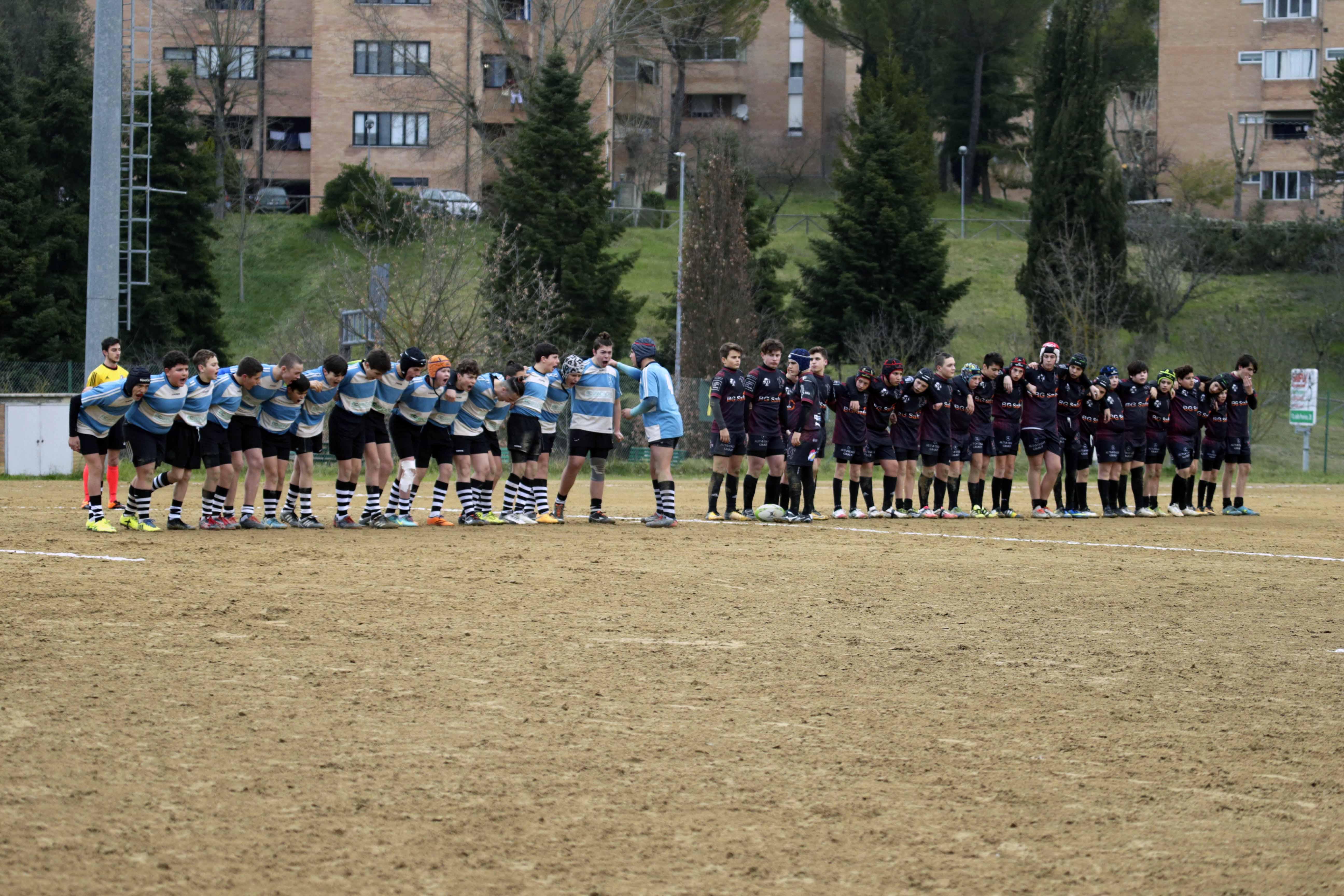 U14 Cus Siena Rugby vs Lions Amaranto Livorno