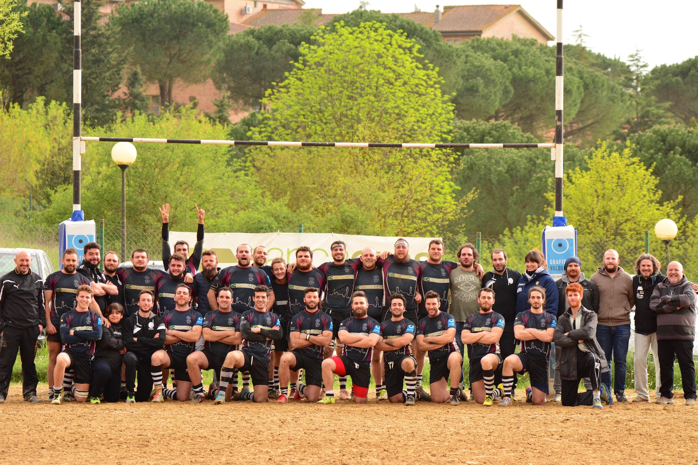 La quattordicesima sinfonia del Banca CRAS CUS Siena Rugby!