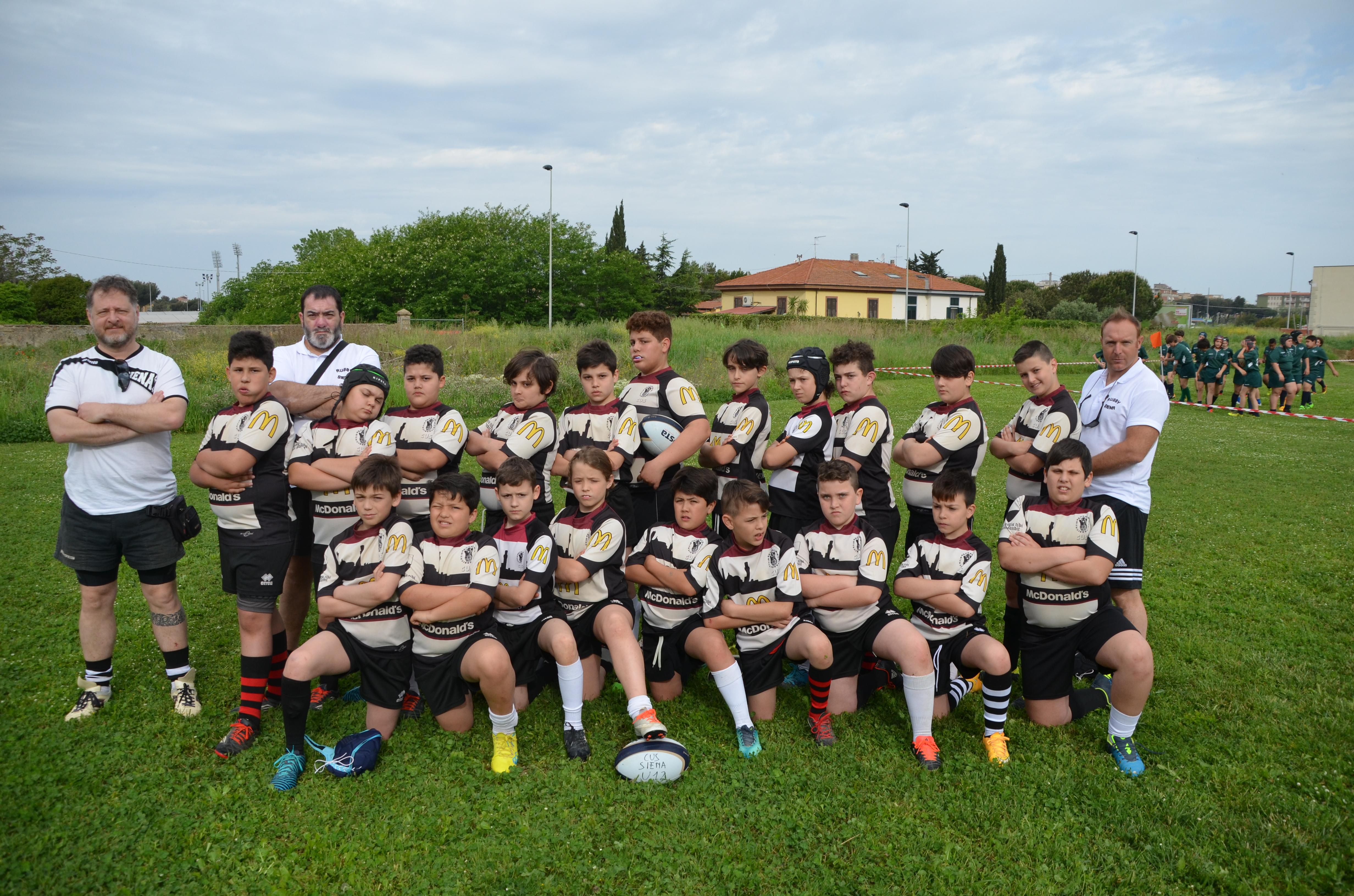Under 12 al torneo di Livorno