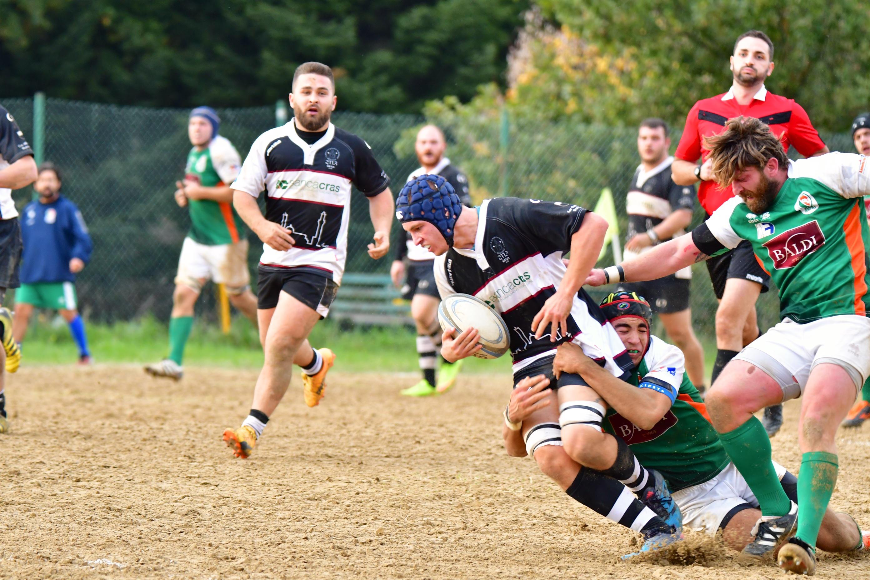 Vittoria convincente per il Banca CRAS CUS Siena contro il Rugby Jesi '70