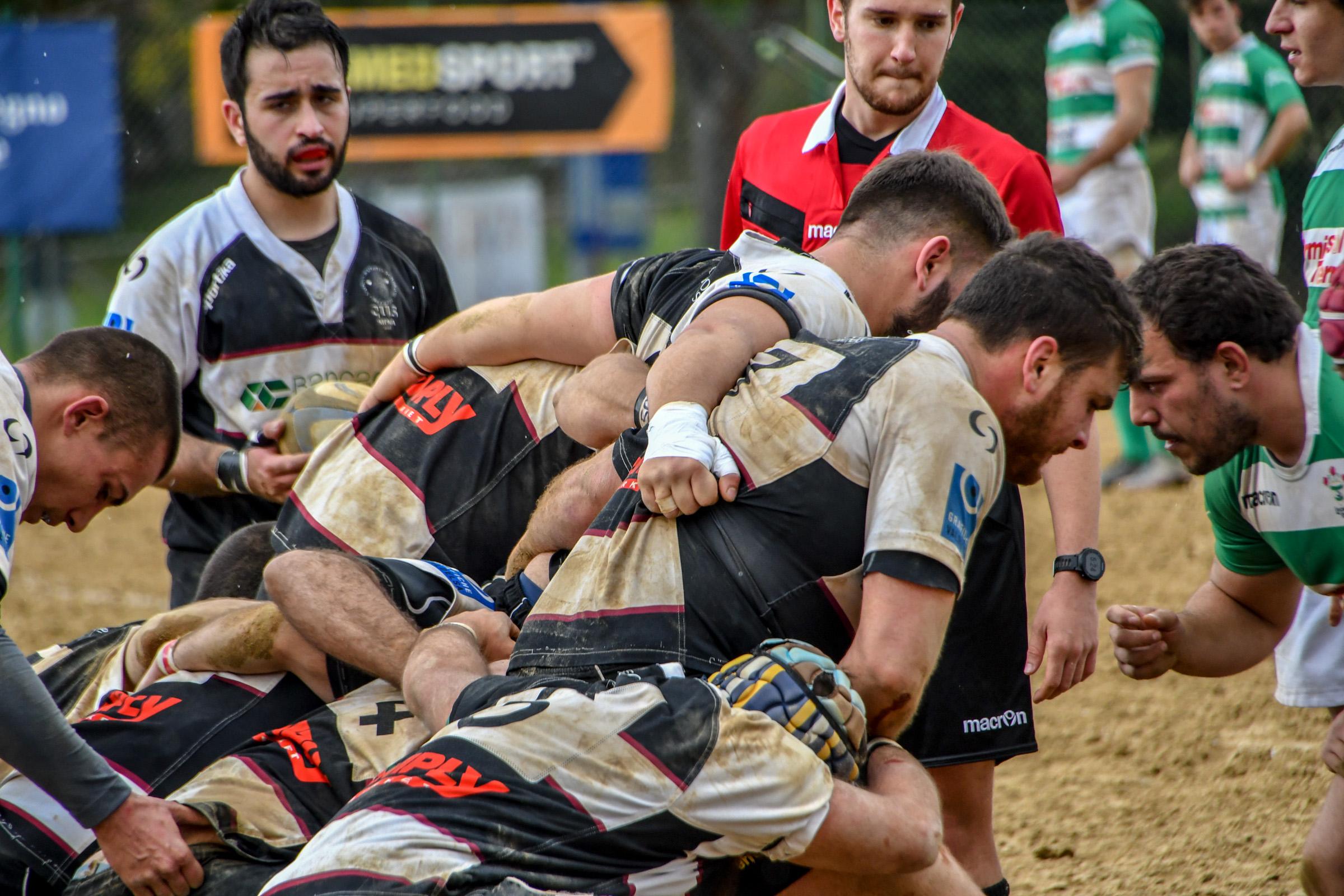 Il Banca CRAS CUS Siena deve arrendersi al Sabbione contro il forte Rugby Livorno.
