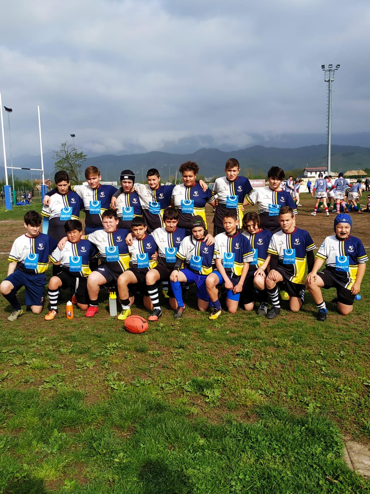 Under 14 FTGI Ghibellini Grafiche Valdelsa al Torneo di Pieve di Soligo