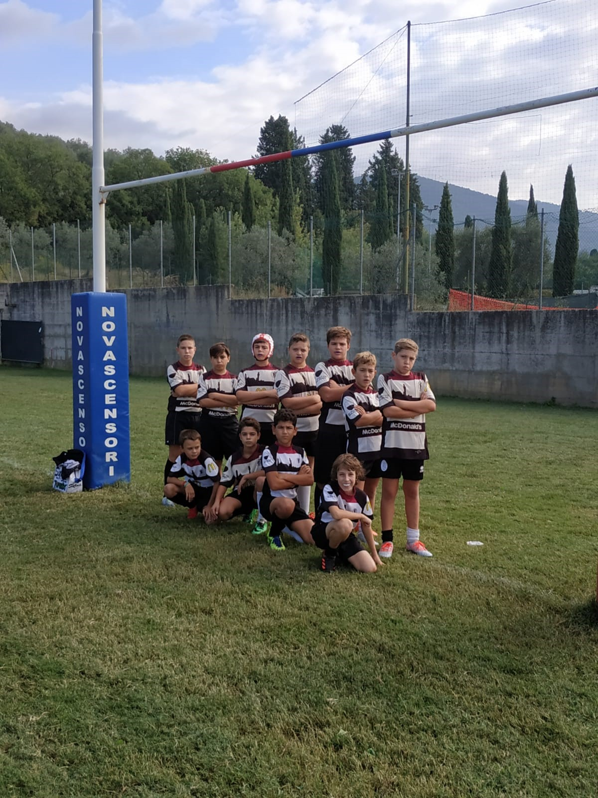Under 12 McDonald's Cus Siena Rugby a Sesto Fiorentino