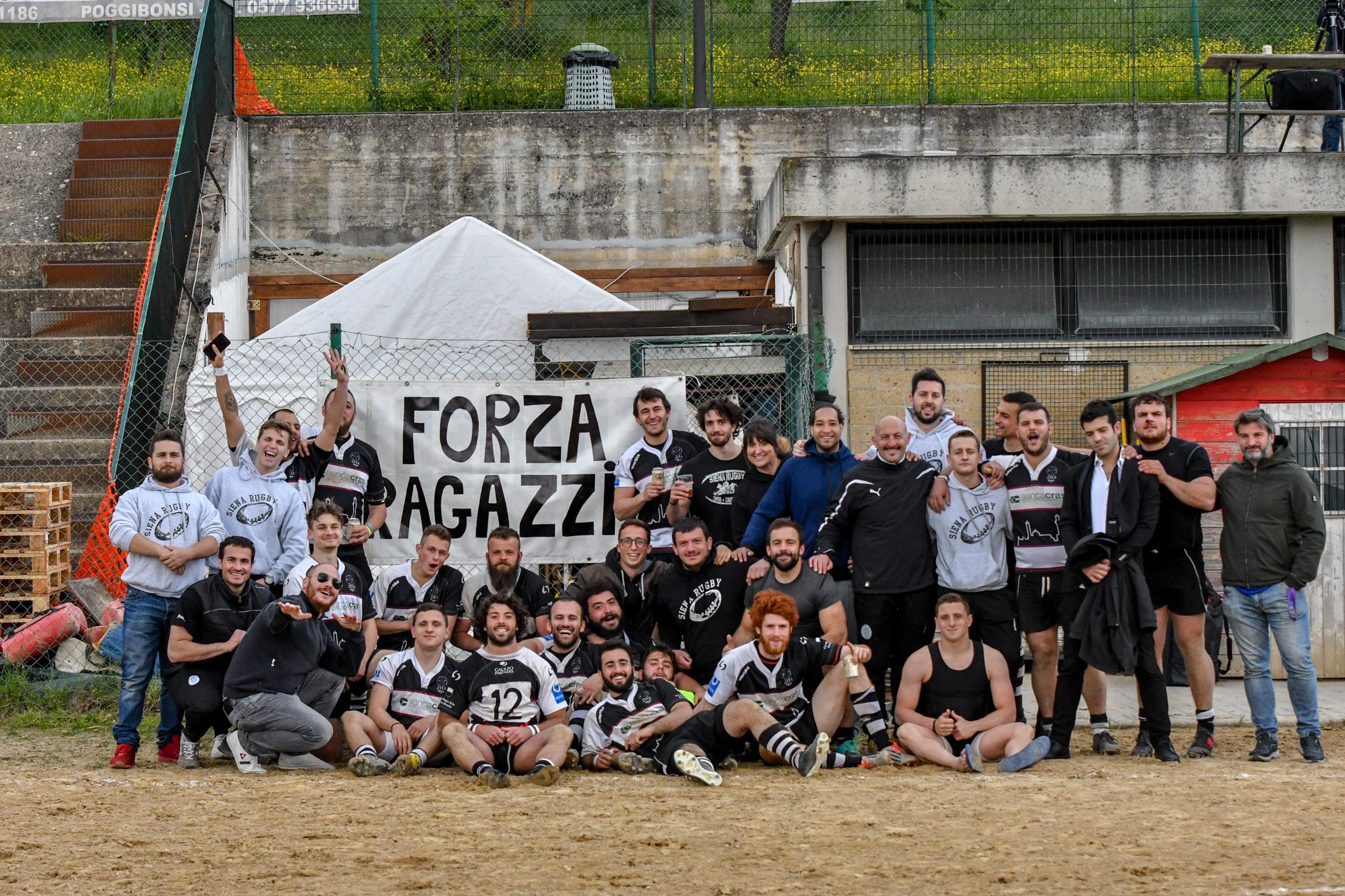 Banca CRAS CUS Siena Rugby torna a vincere!