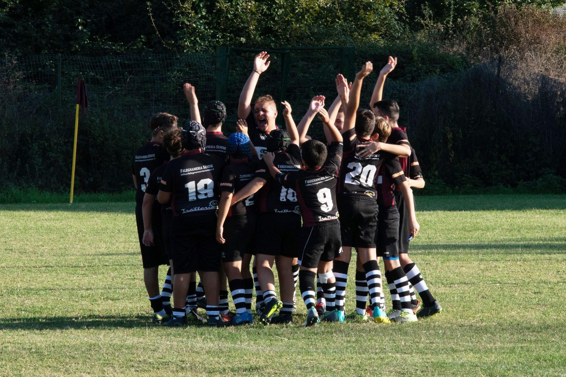 Rugby Under 14: Siena manca per un soffio la vittoria al secondo appuntamento di stagione