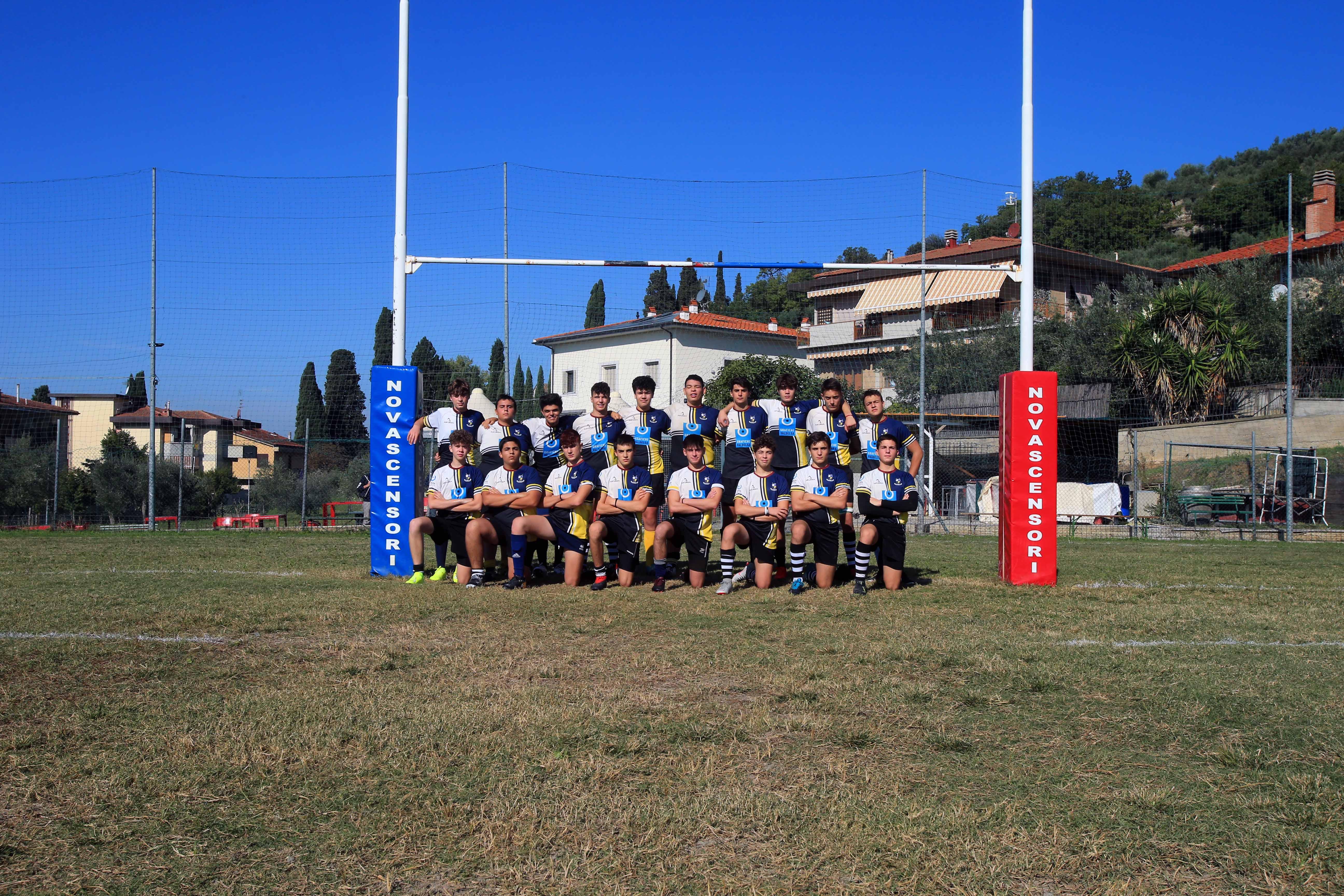 U16 FTGI Ghibellini Grafiche Valdelsa 1° di campionato