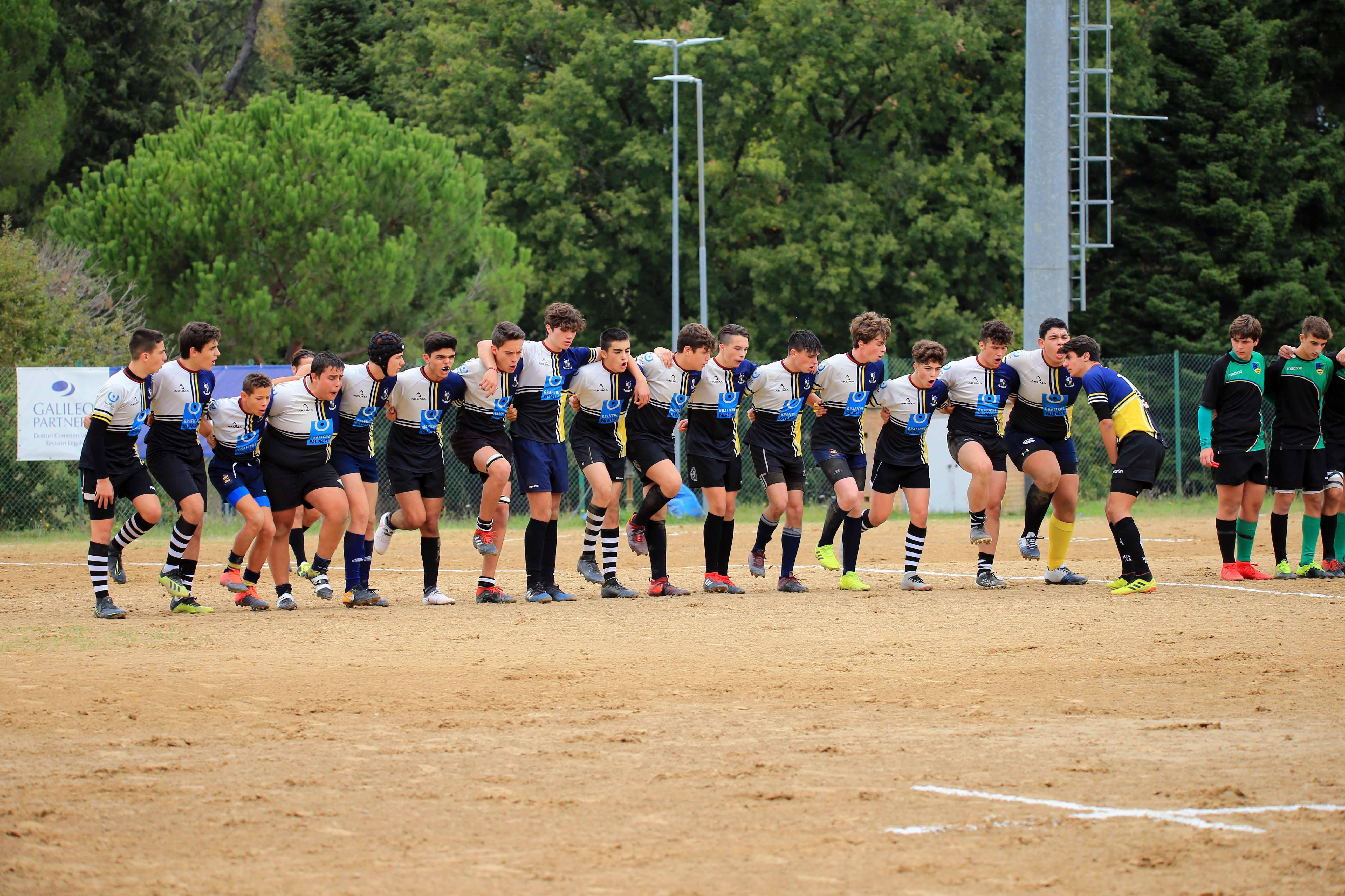 U16 FTGI GHIBELLINI GRAFICHE VALDELSA 3° DI CAMPIONATO